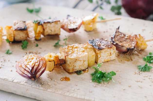 tofu and pineapple skewer recipe