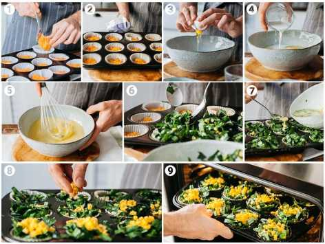 1145 mini sweet potato and spinach frittata COLLAGE