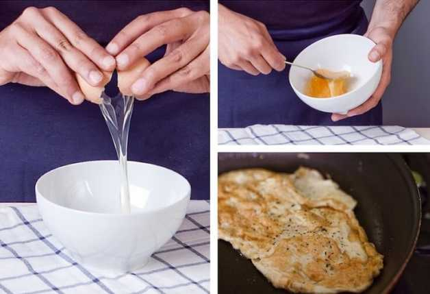 Omelet step-by-step