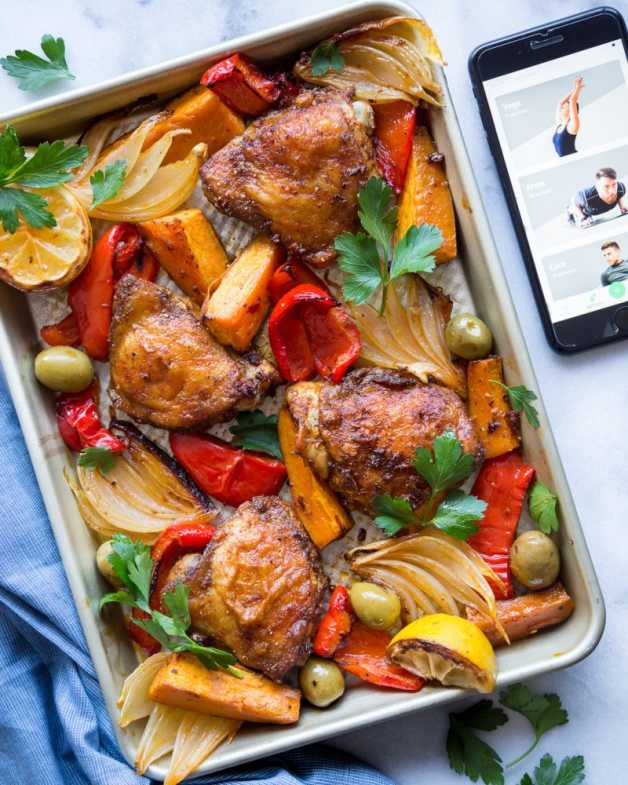 Sheet pan chicken primal gourmet