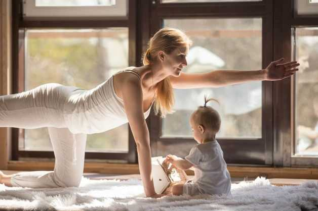mom-baby-workout-healthy-lifestyle
