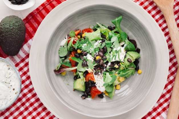 southwestern salad recipe