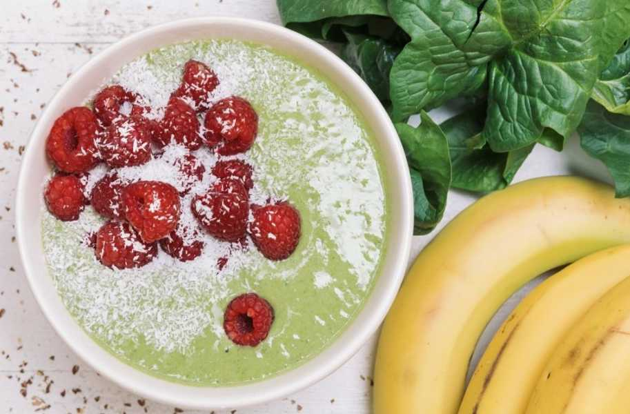 green smoothie power bowl