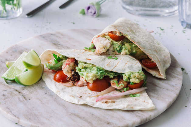 fish tortilla healthy recipe