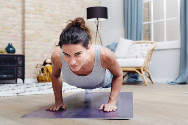 push up ame home workout chest