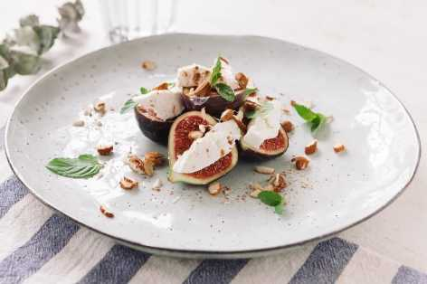 goat cheese stuffed fig