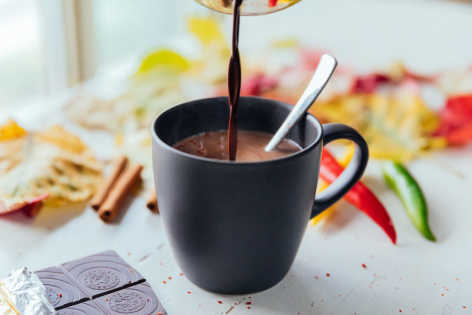 drinks elixers hot chocolate chili cocoa