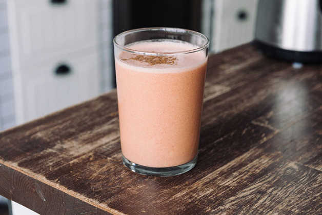 Bottom Inage Watermelon Banana smoothie
