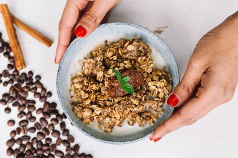 Espresso overnight oats recipe