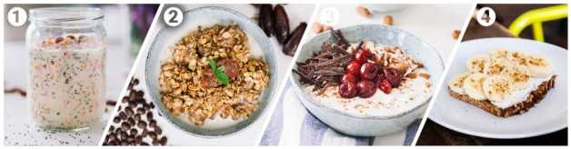 Sweet breakfast recipes