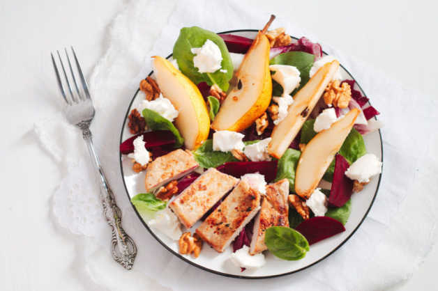 pork-pear-salad