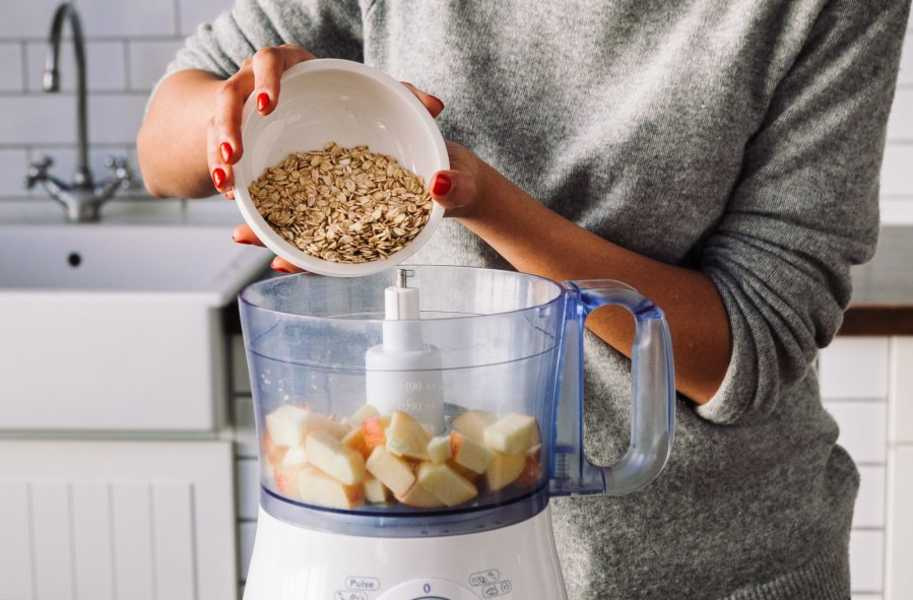 Food-allergies-and-intolerances blender oatmeal