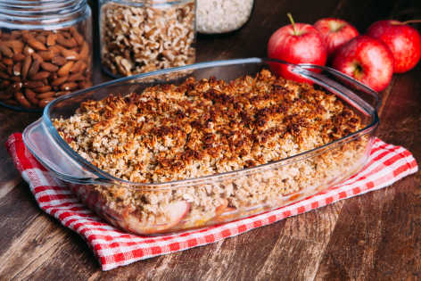 apple crumble chritmas recipe