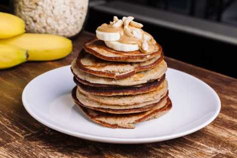 banana-pancakes recipe healthy protein