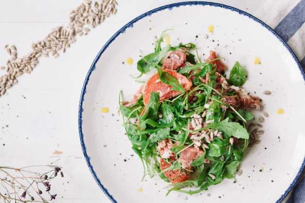 grapefruit arugula and prosciutto salad recipe