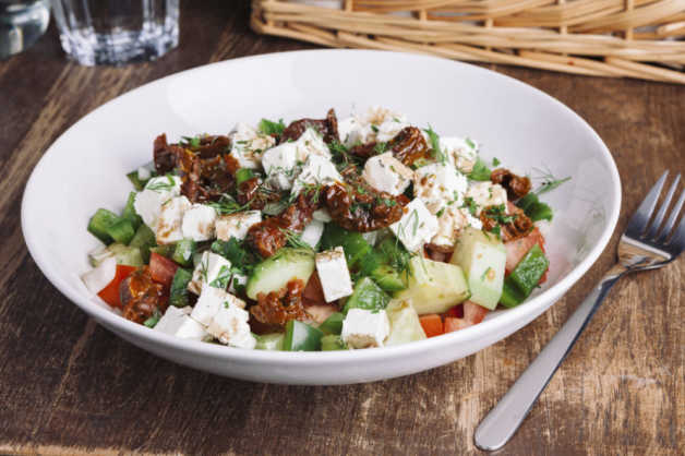 classic greek salad recipe