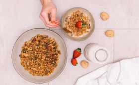 A Healthy Granola Recipe to Go Nuts For