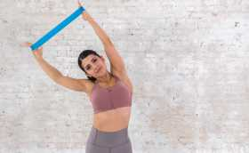 8-Minute Upper Body Resistance Band Workout For All Levels