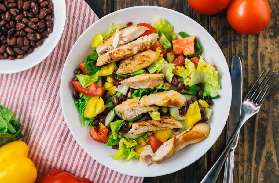 chicken fillet salad