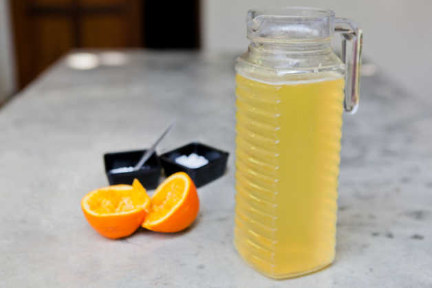 Isotonic drink, orange