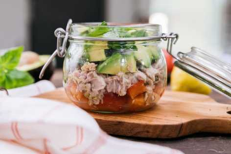 salads breakfasts JARS 002 tuna