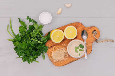Lemon Tahini Dressing Recipe for Salads