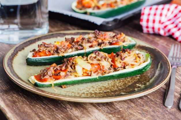 stuffed zucchini with beef recipe