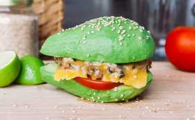 Avocado & Black Bean Burger