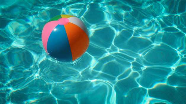 Pool, ball, blue, unsplash