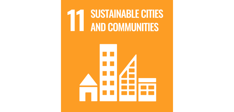 UN goal illustration sustainable cities and communities