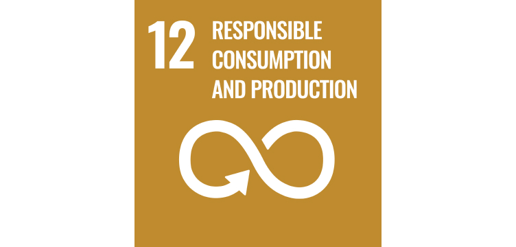 UN goal illustration responsible consumption and production