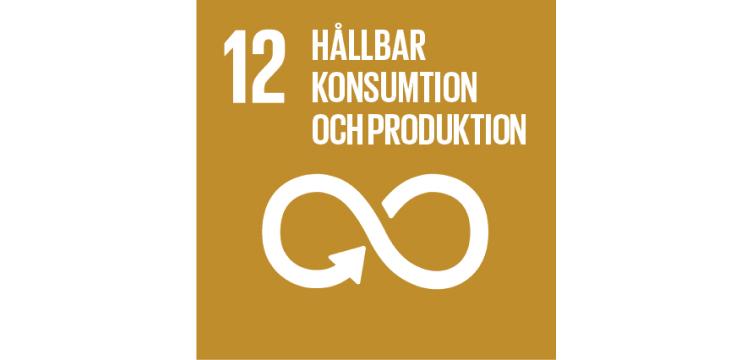 FN-mål illustration ansvarsfull konsumption och produktion