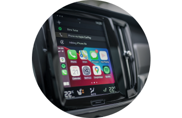 Apple CarPlay bilinteriör