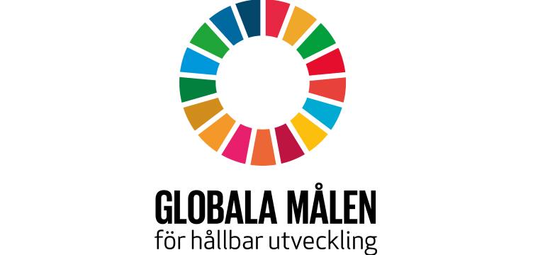 Bild som beskriver FNs utvecklingsmål