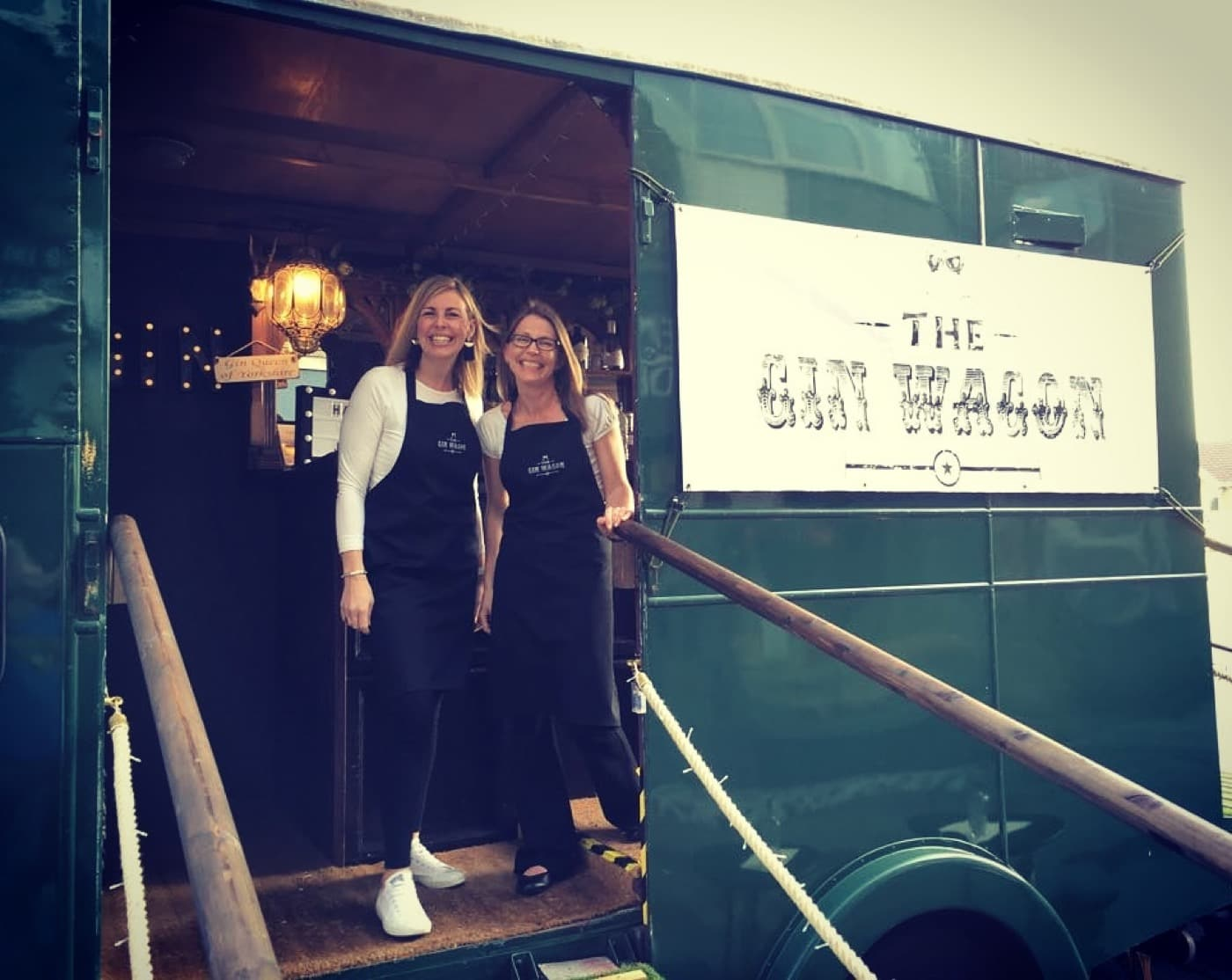 Aprons and Gin Wagon