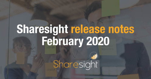 Sharesight release notes february 2020