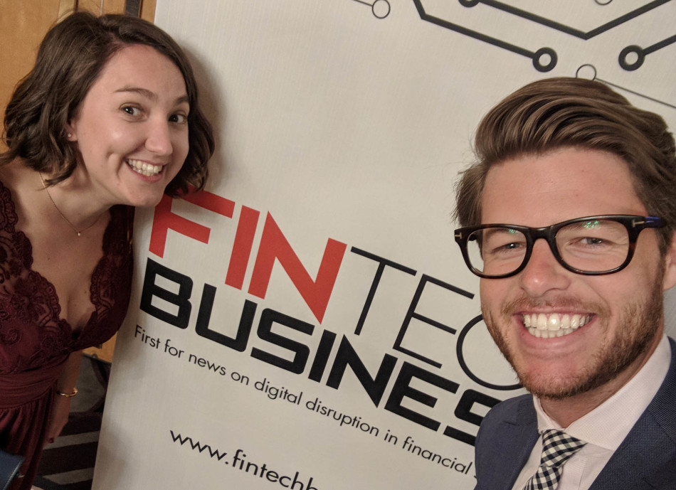 Sharesight Fintech Business Awards 2018 Jess Doug