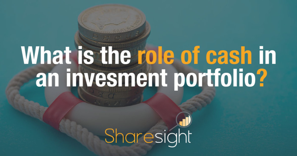 Role of cash investment portfolio