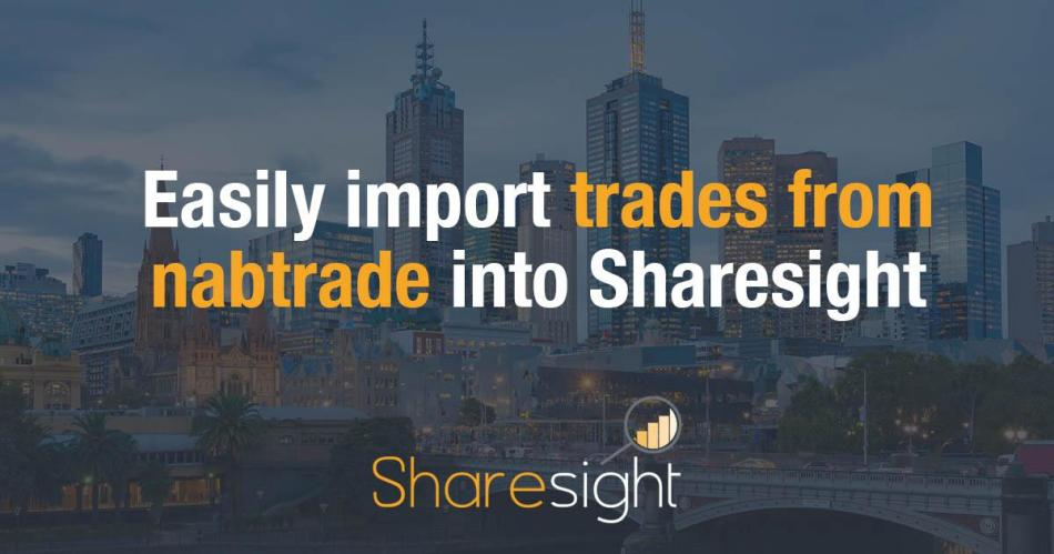 Sharesight import trades nabtrade