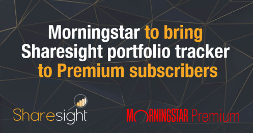 Morningstar to bring Sharesight portfolio tracker to premium subscribers (with logo)