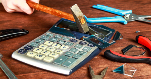 featured - calculator - smashed