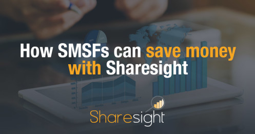 How SMSFs can save money with Sharesight