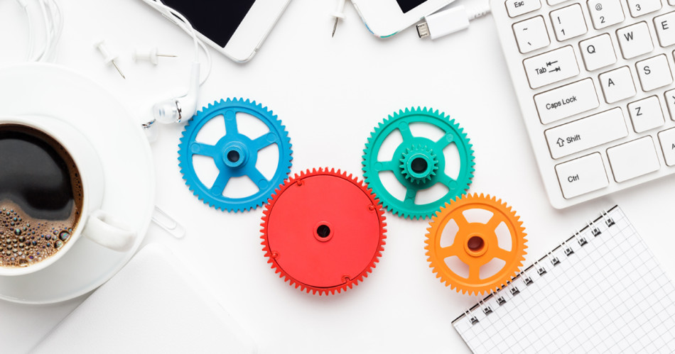 featured - gears on desk