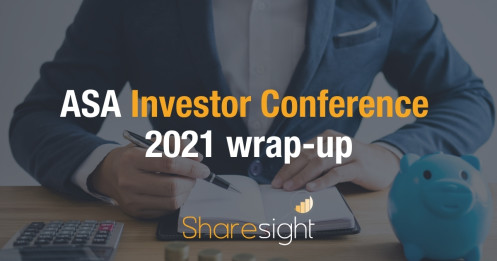 ASA Investor Conference 2021 wrap-up