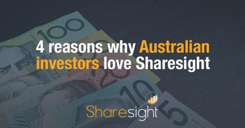 Australian Investors Love Sharesight