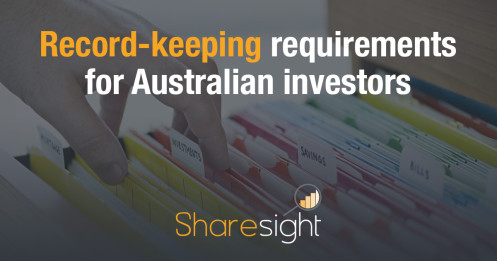 featured - Record-keeping requirements for Australian investors