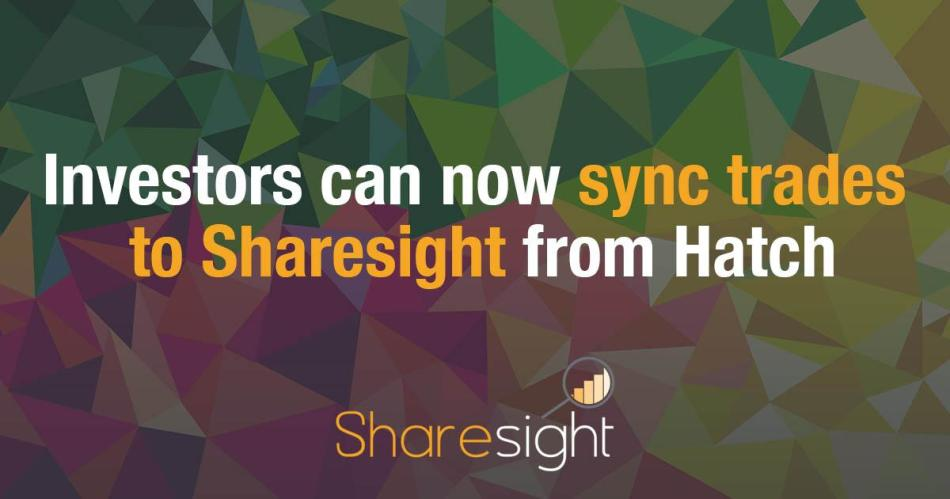 Sync trades to Sharesight from Hatch