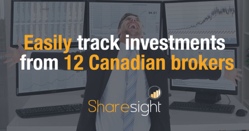 Track investments canadian brokers
