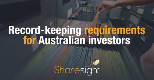 Record keeping requirements ATO Australian investors