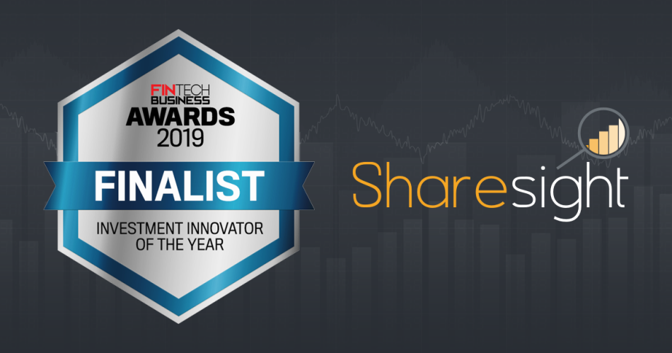 featured - Fintech Business Awards 2019 - Sharesight